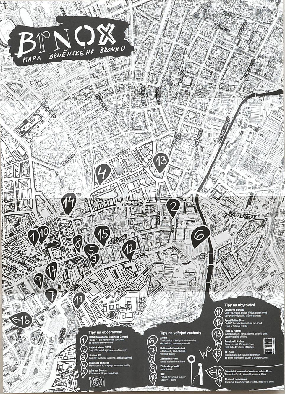 bronx mapa